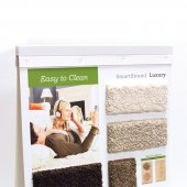 Carpet sample binder